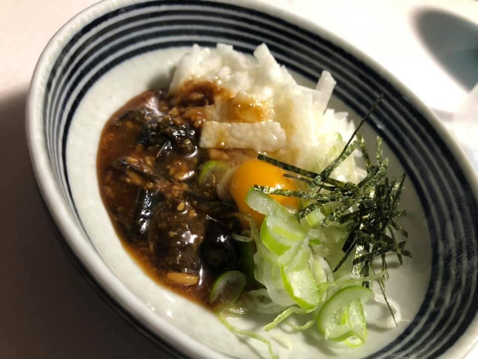 山芋醤油豆和え(自家製醤油豆)