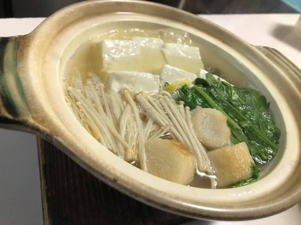 湯豆腐(季節限定)
